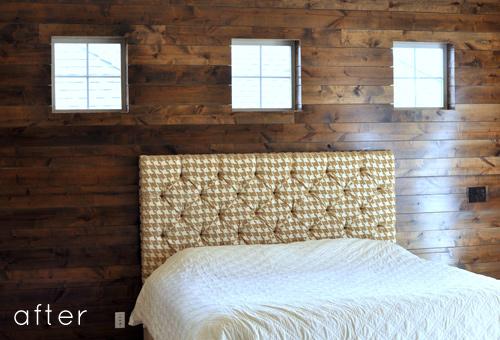 wood wall design sponge photo - 7