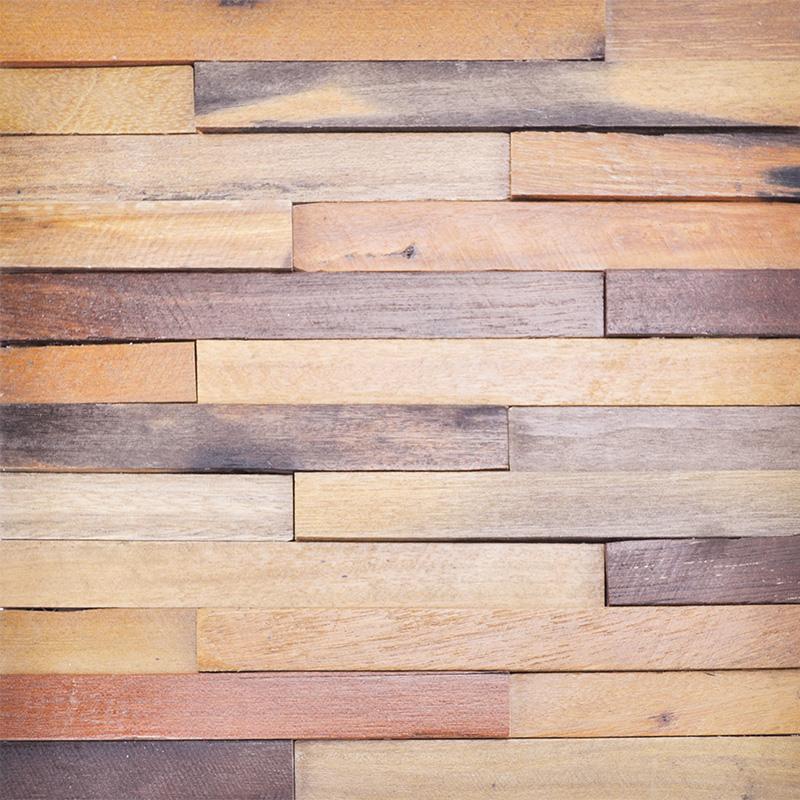 wood wall panel design photo - 1