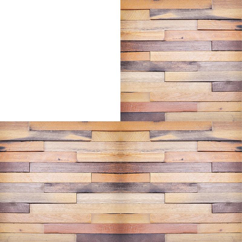 wood wall panel design photo - 6