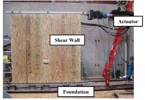 wood wall stud design photo - 8