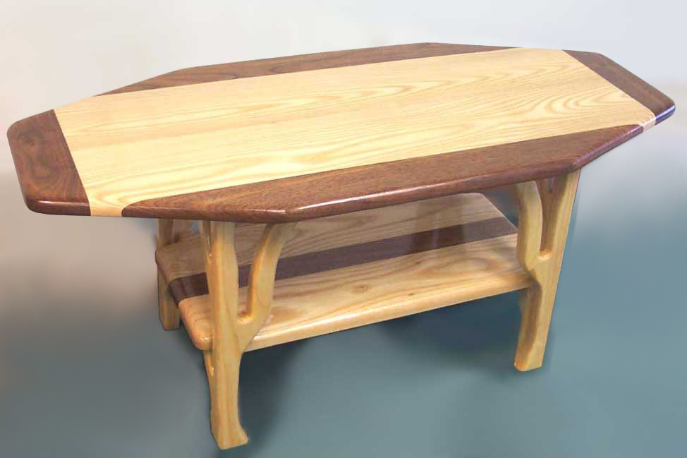 Wooden Coffee Table Design Photo 2