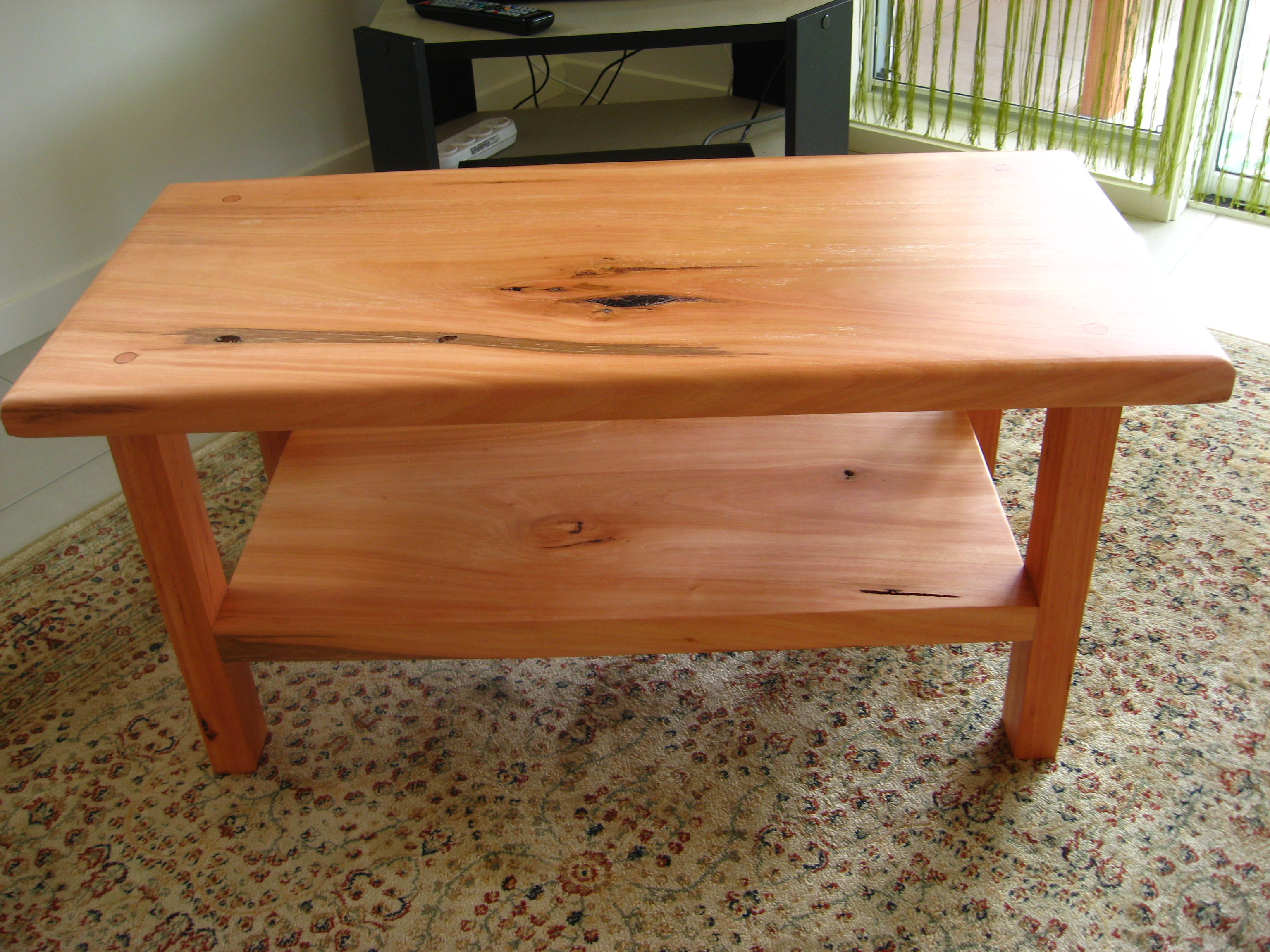wooden coffee table designs photo - 1