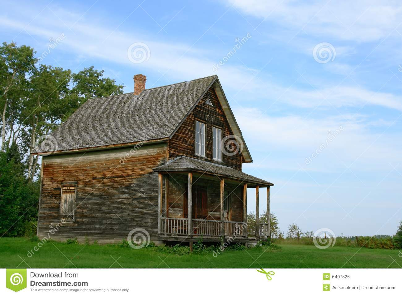 wooden country house photo - 3