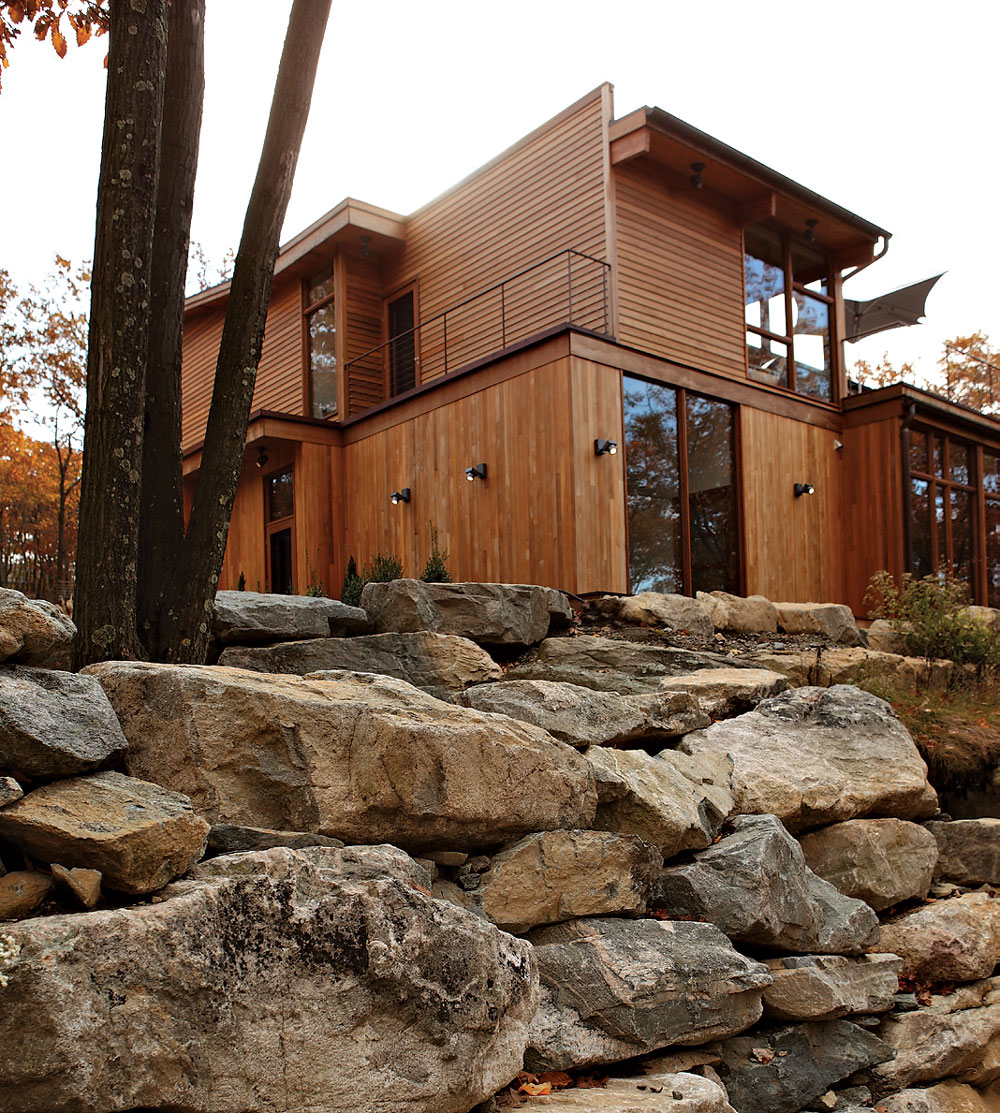 wooden country house design photo - 4