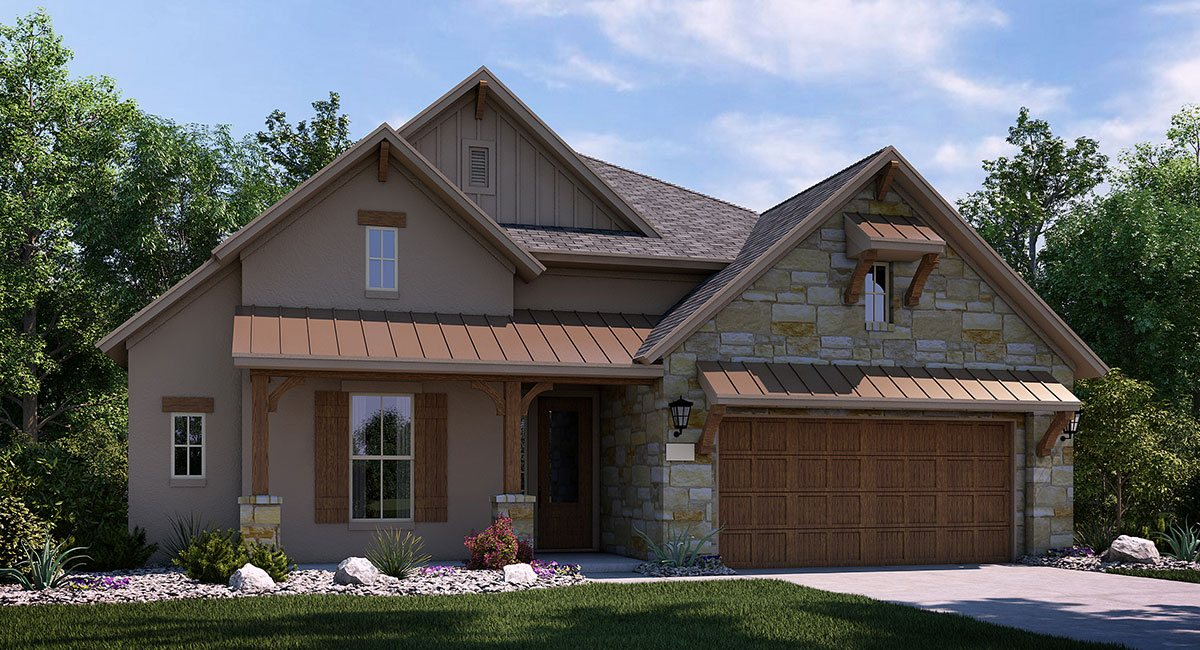 wooden country house design photo - 8