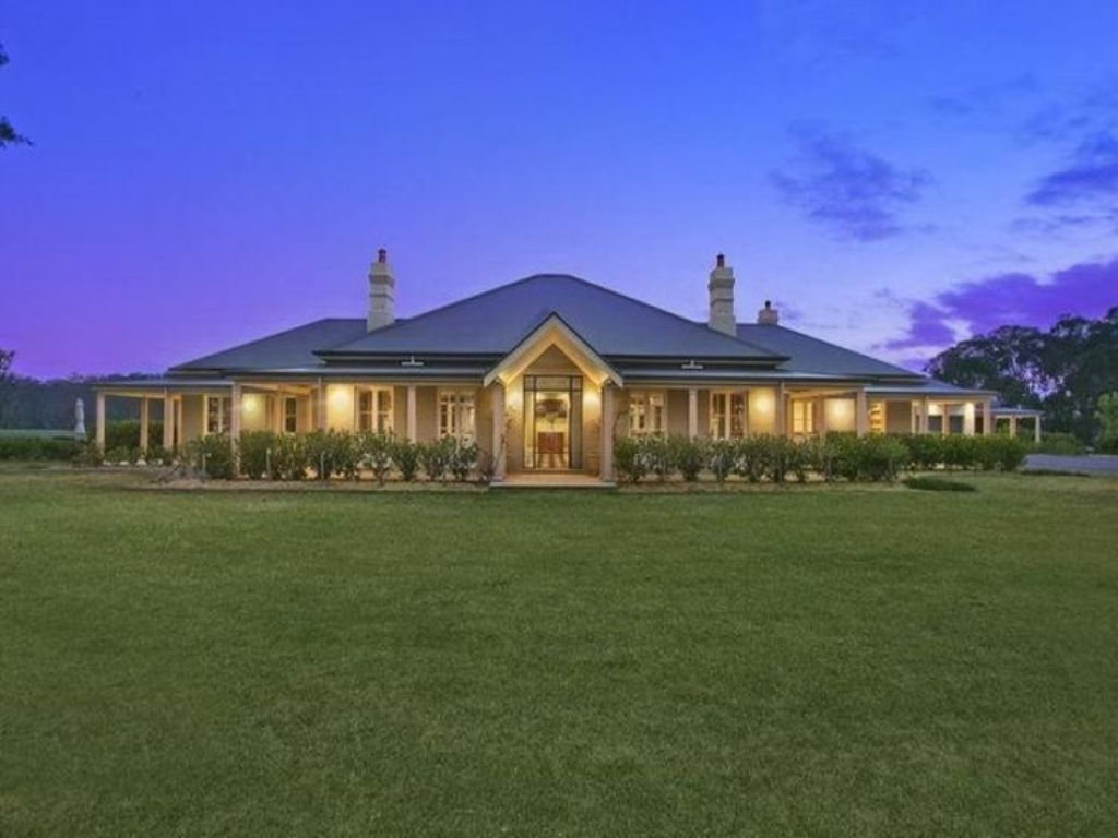 wooden country house exterior scene photo - 4