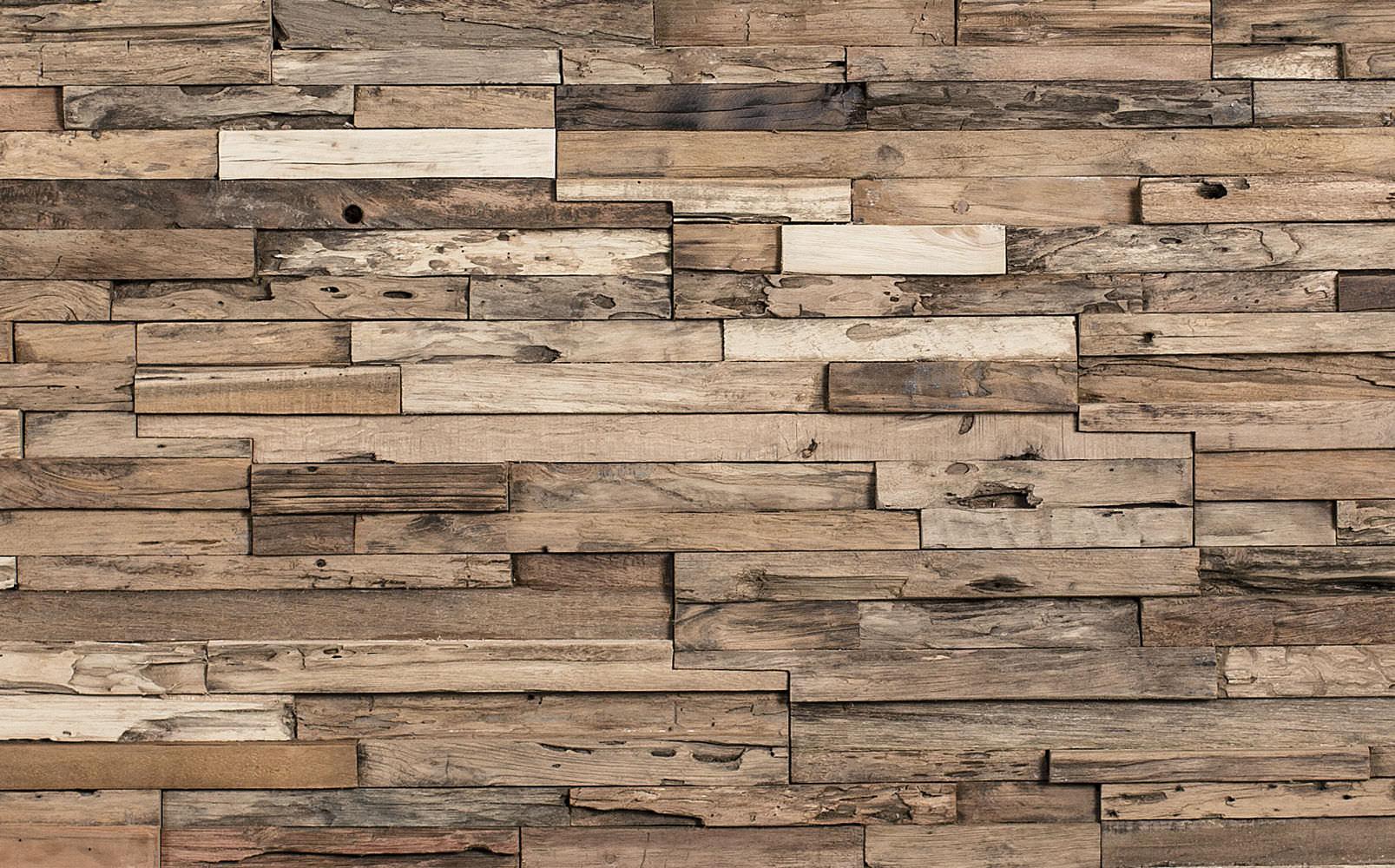 wooden decorative wall panels photo - 1