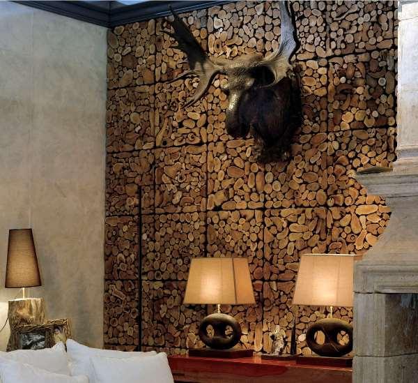 wooden decorative wall panels photo - 3