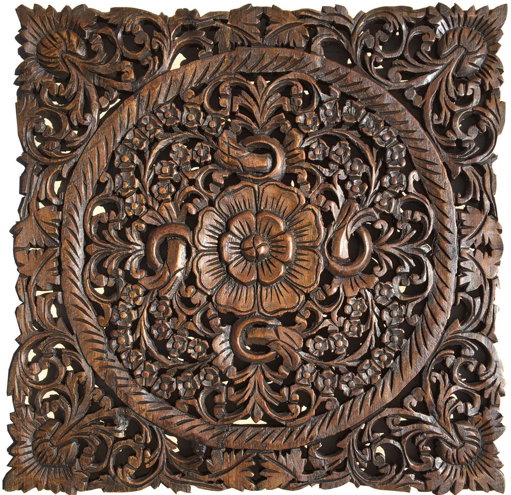 wooden decorative wall plaques photo - 1