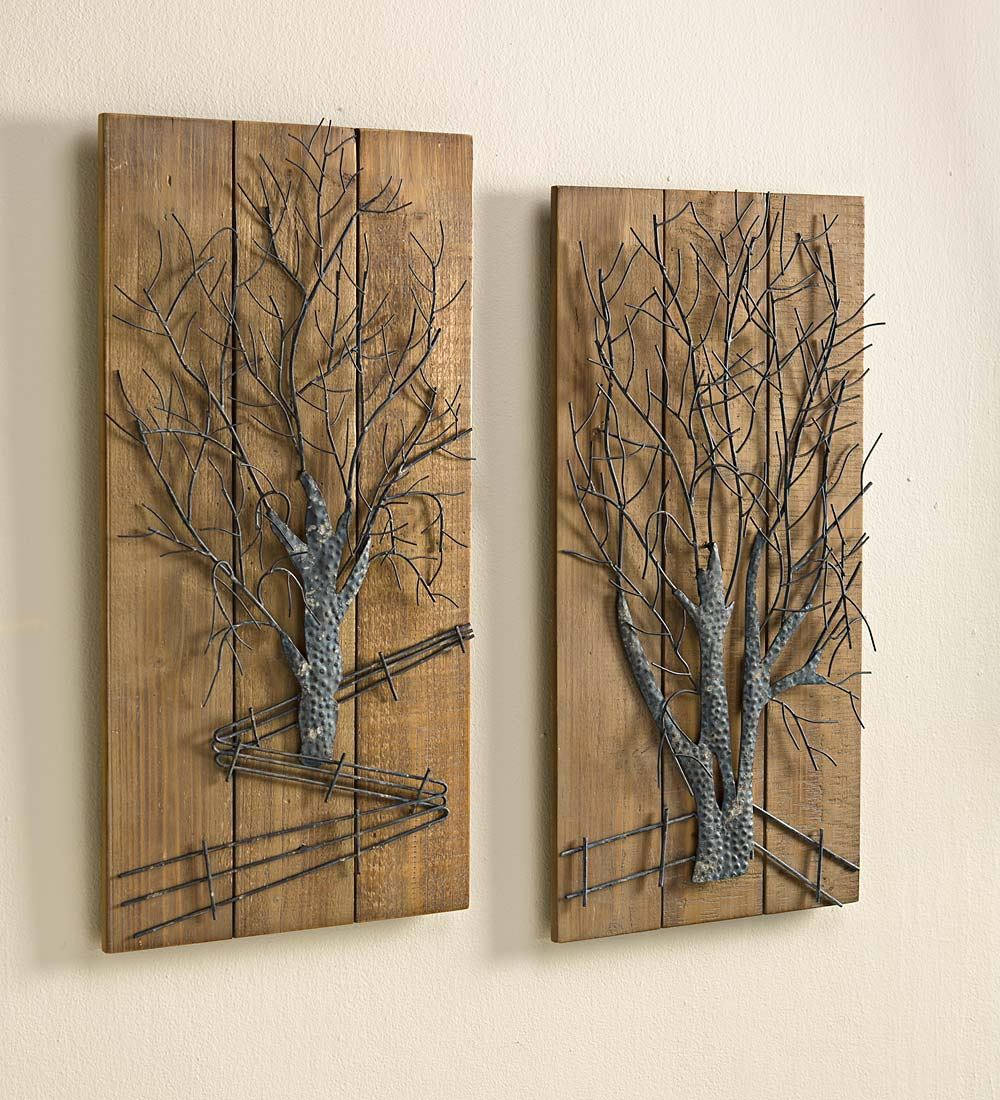 wooden decorative wall plaques photo - 9