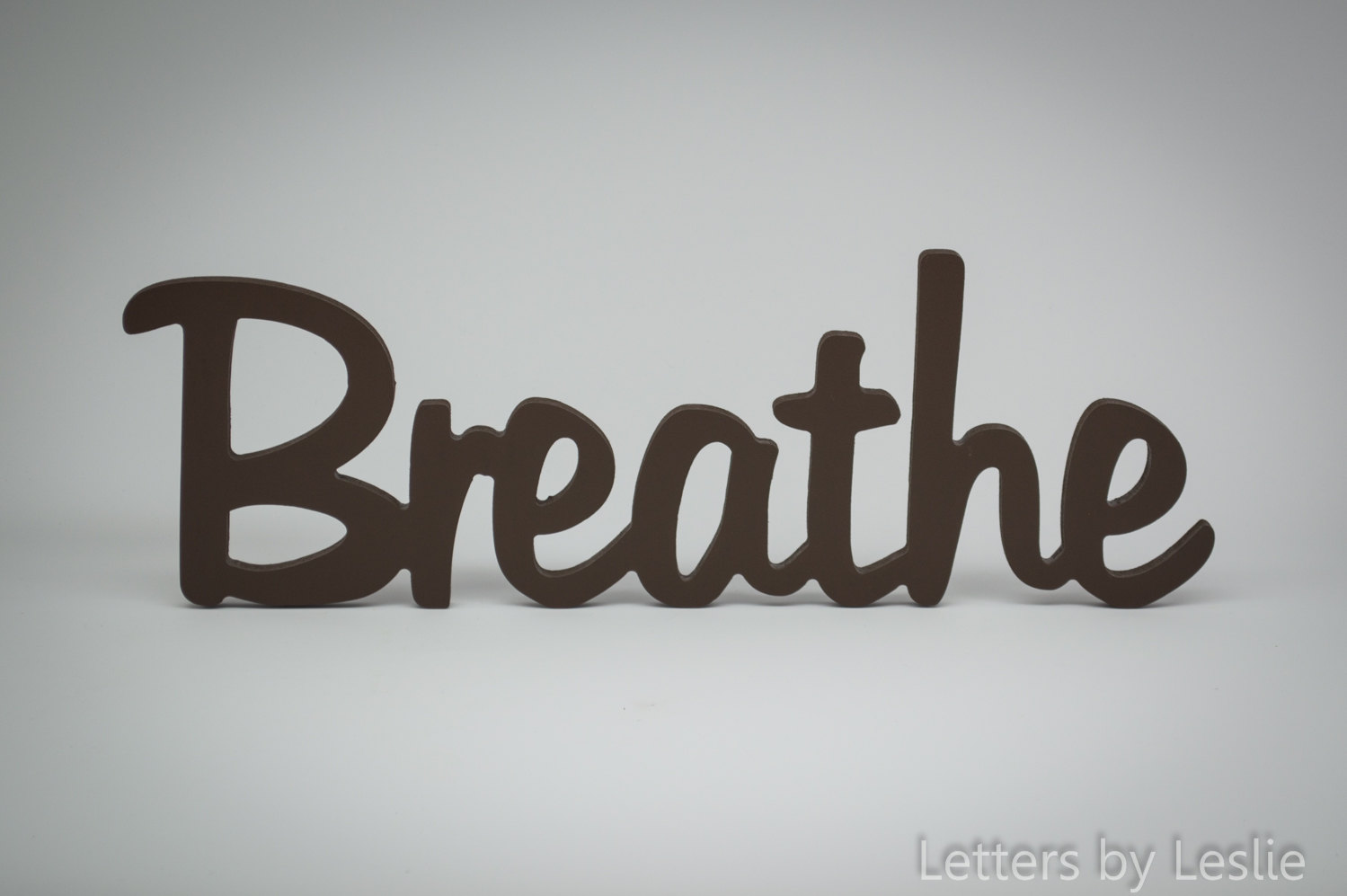 wooden decorative wall words photo - 3