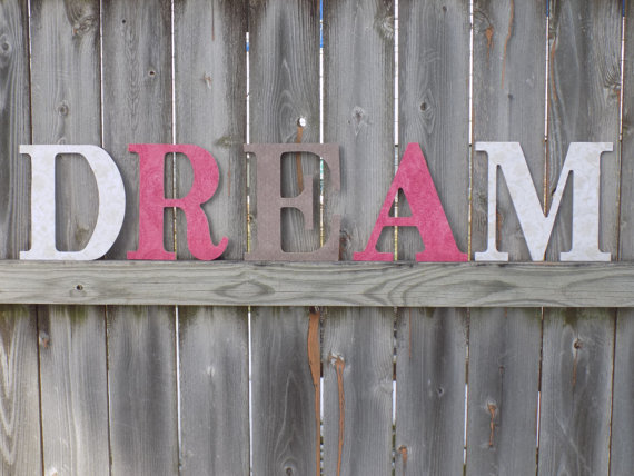 wooden decorative wall words photo - 6