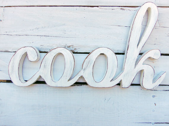 wooden decorative wall words photo - 9