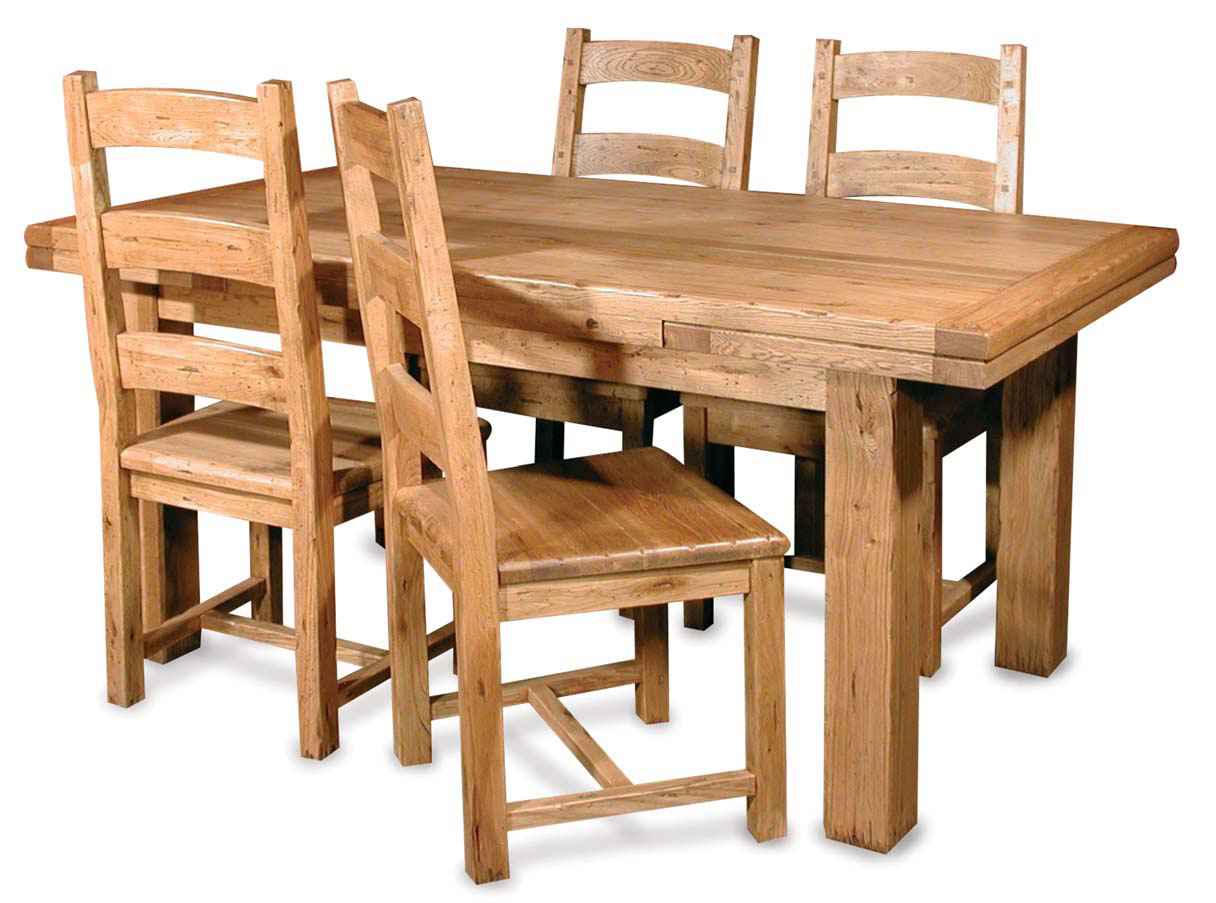 wooden dining tables and chairs photo - 1