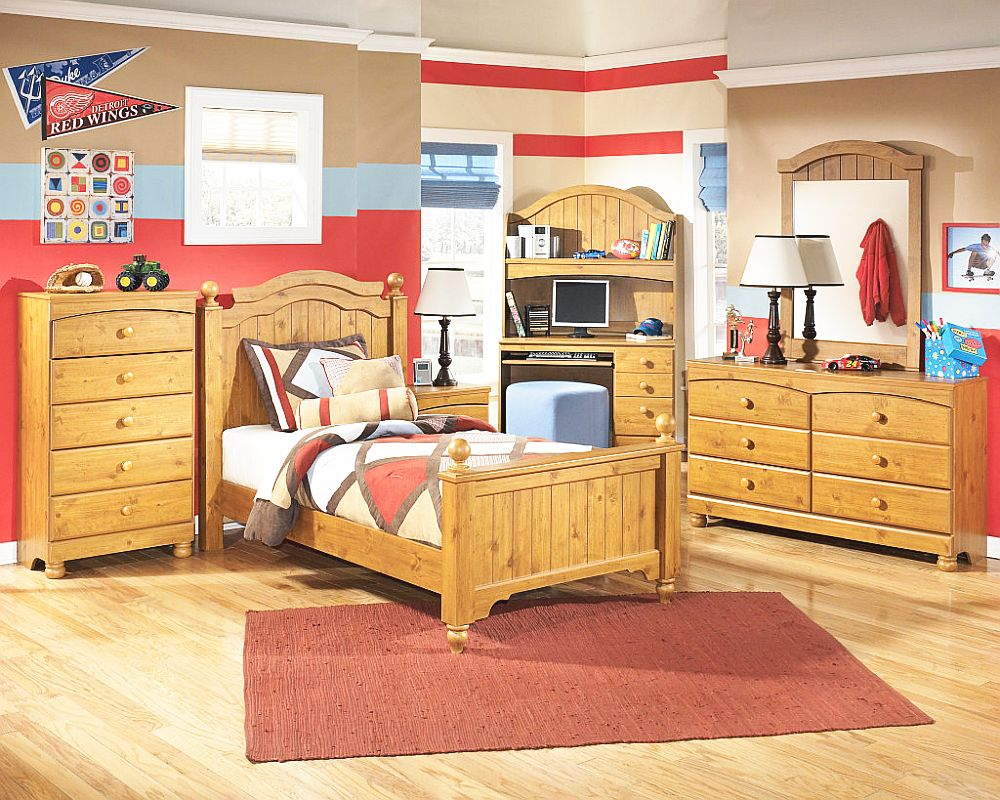 wooden furniture for kids bedroom photo - 10