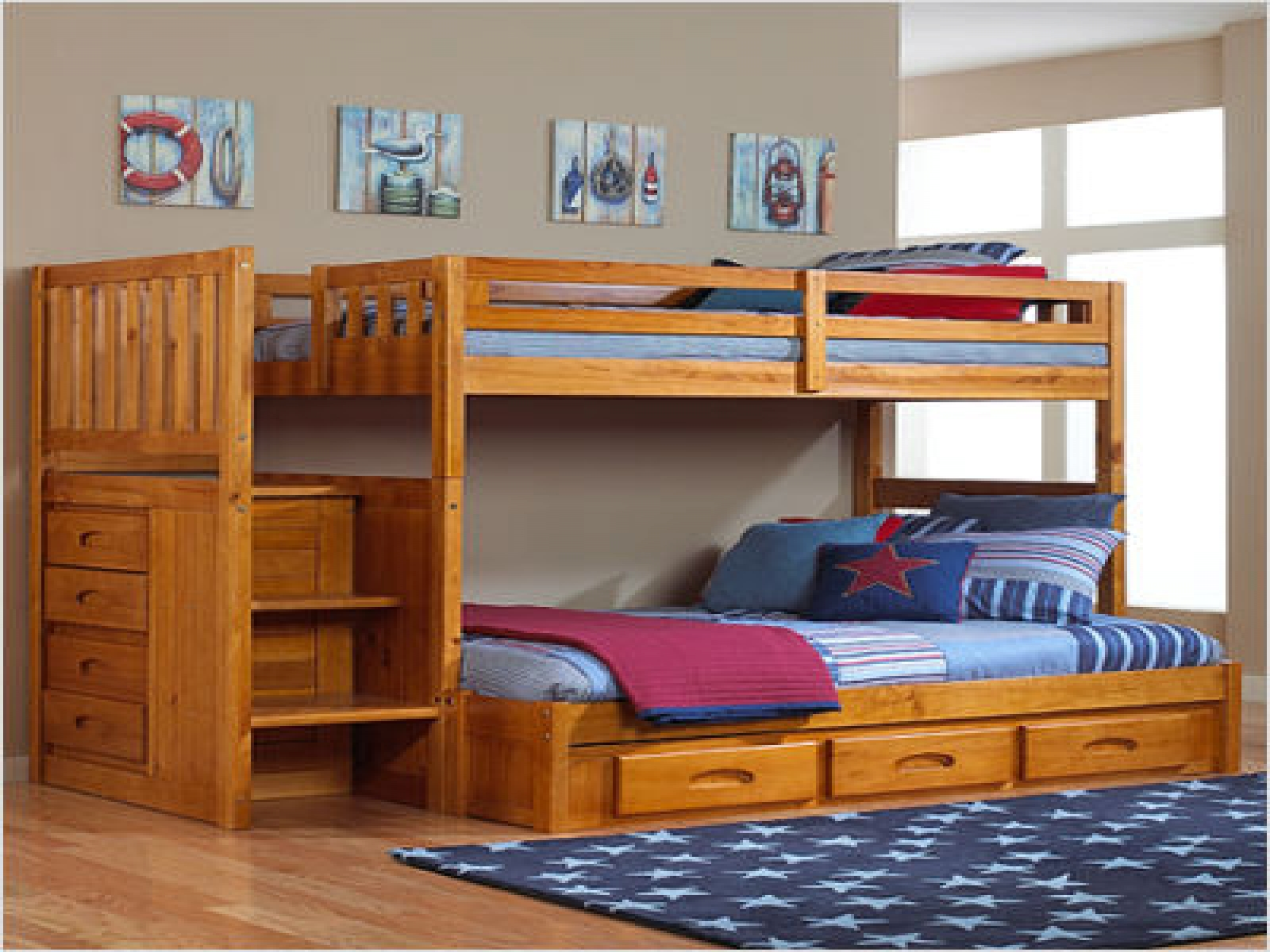 wooden furniture for kids bedroom photo - 3