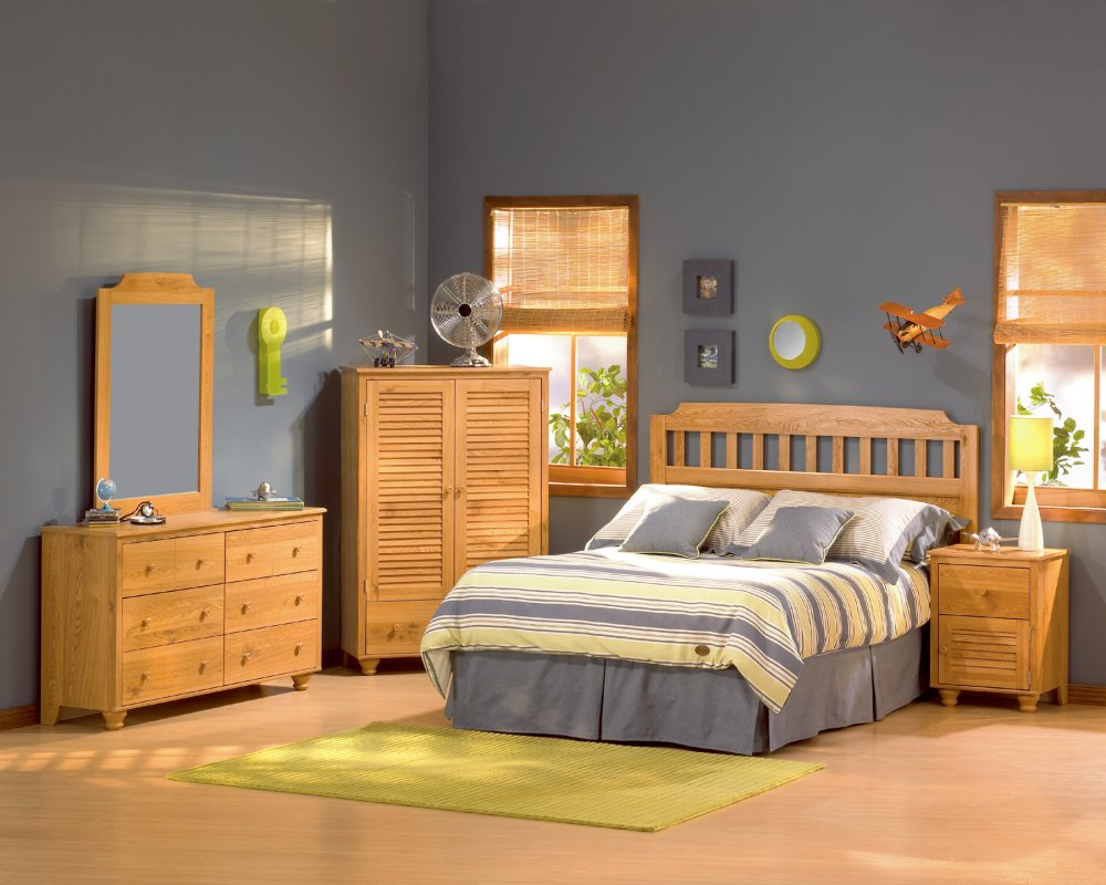 wooden furniture for kids bedroom photo - 4
