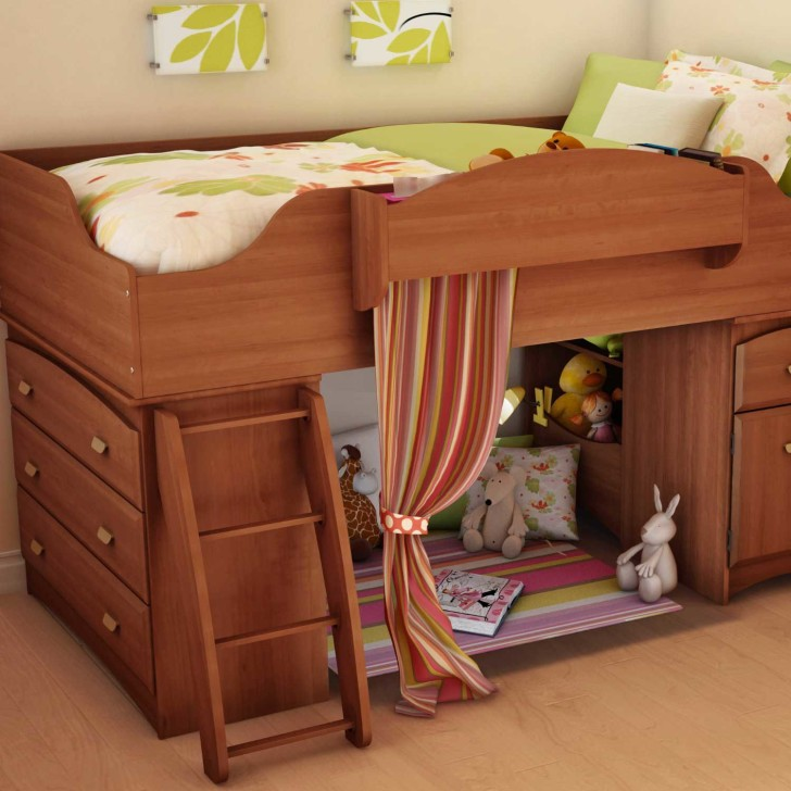 wooden furniture for kids bedroom photo - 5
