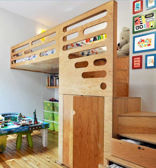 wooden furniture for kids bedroom photo - 6