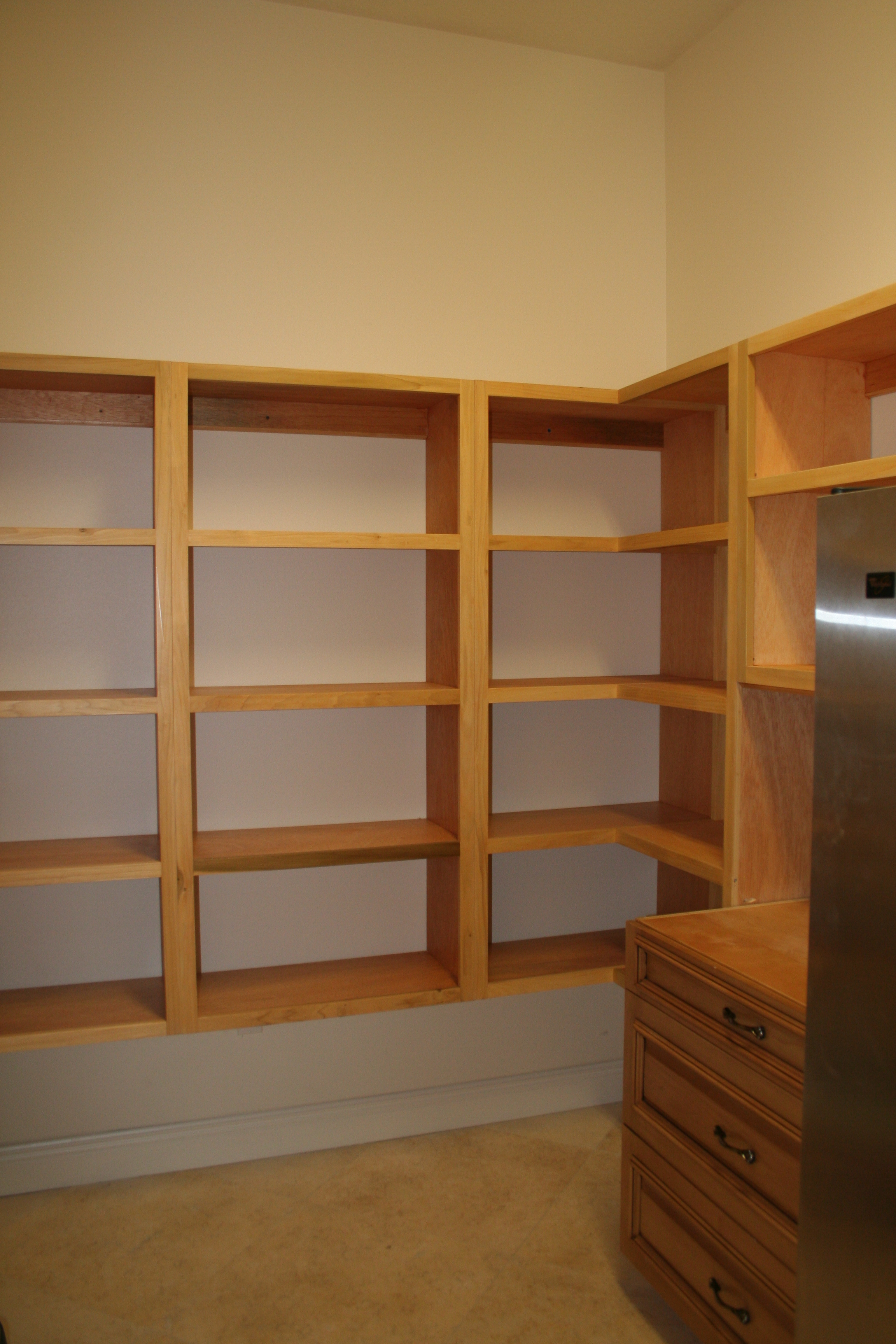 Wooden Pantry Shelving Systems Hawk Haven