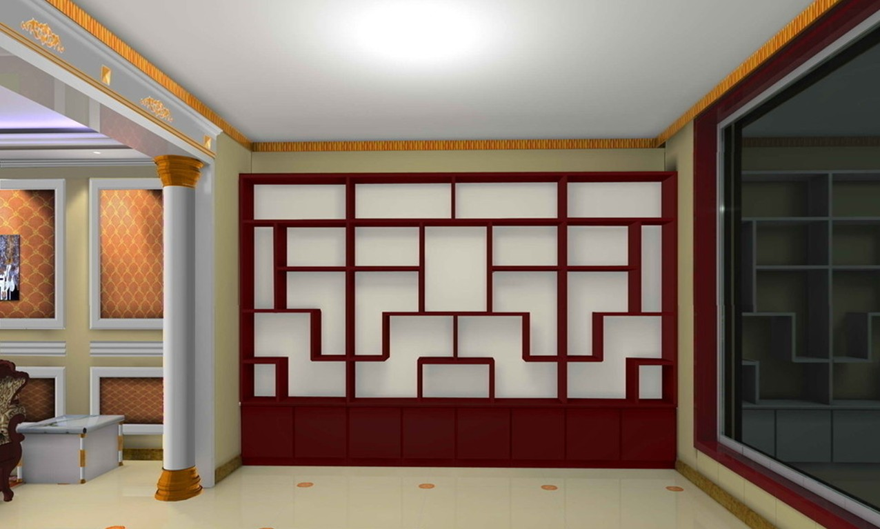 wooden wall design interior photo - 5