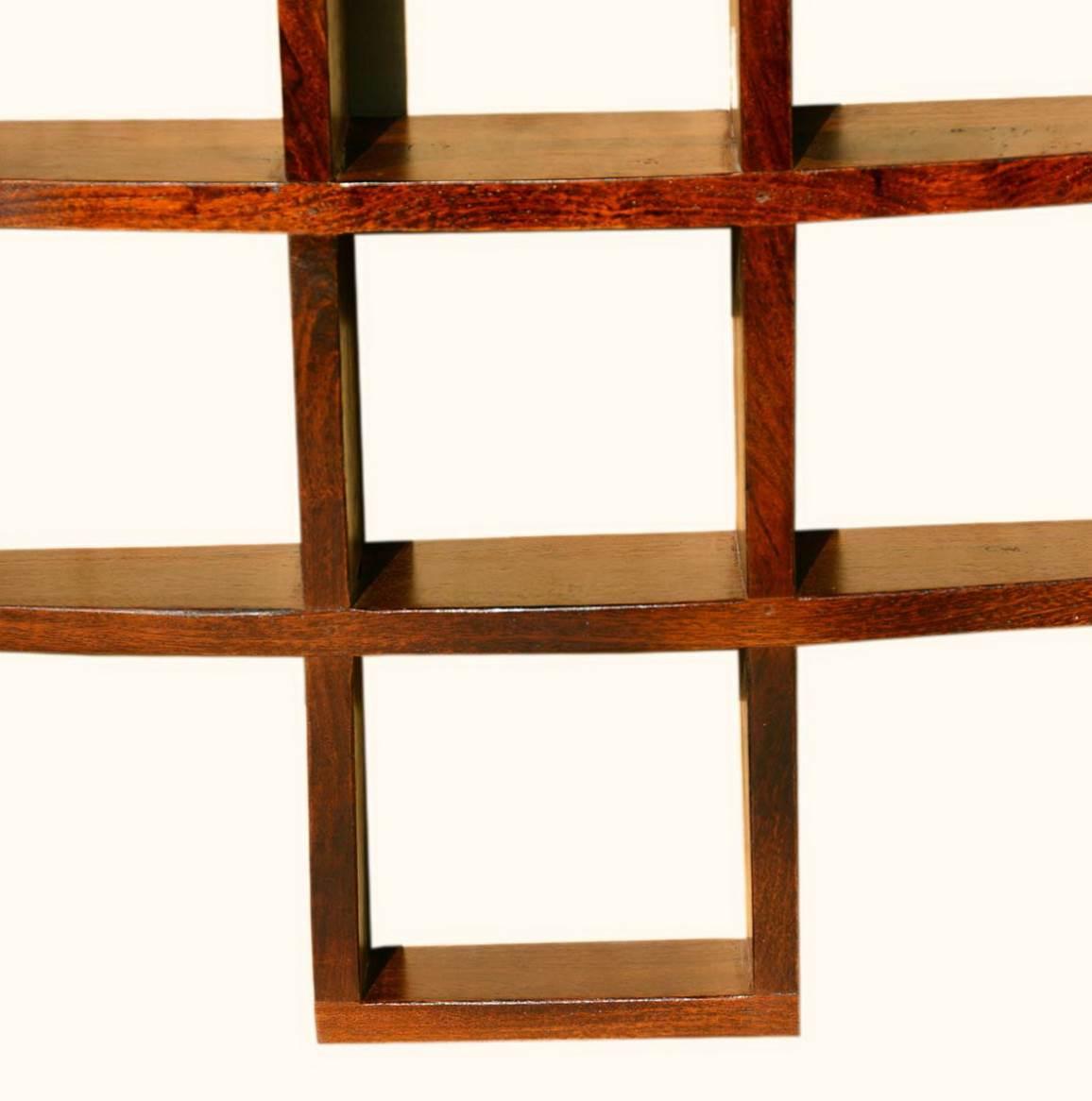 wooden wall shelves design photo - 8