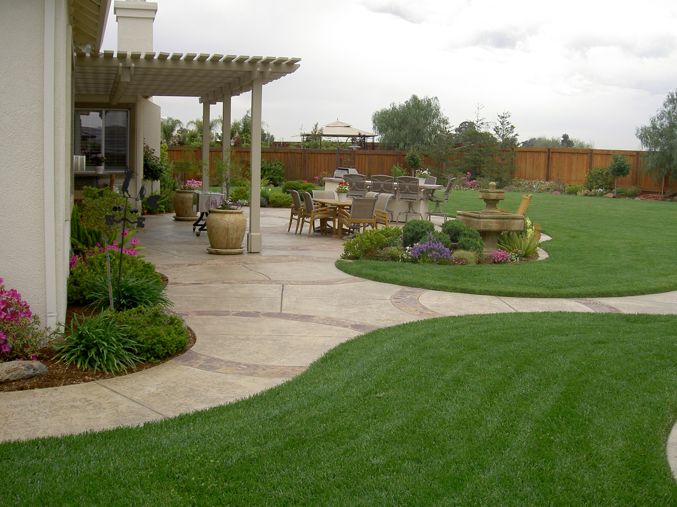 yard garden design ideas photo - 8