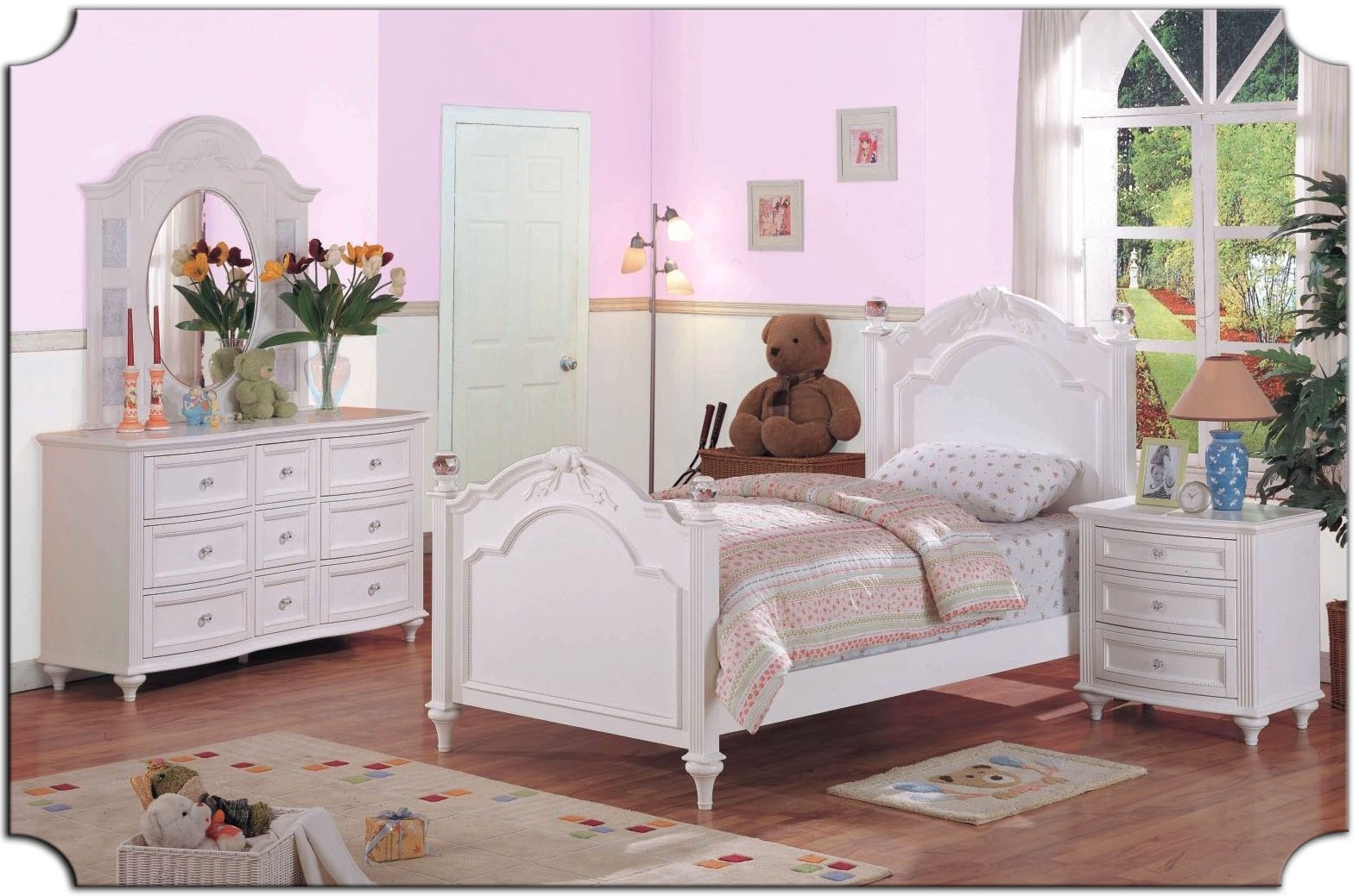 youth bedroom furniture for girls photo - 3