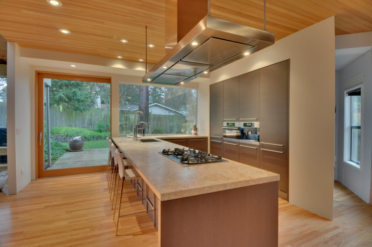 zen interior design kitchen photo - 10