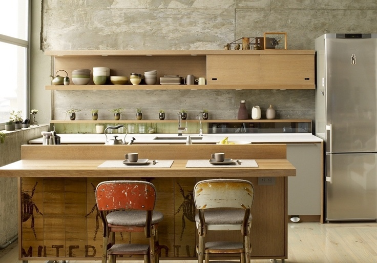 zen interior design kitchen photo - 3