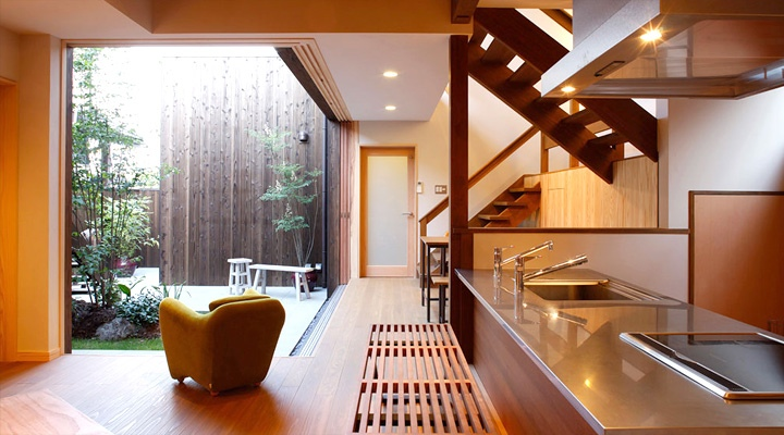 zen interior design kitchen photo - 4