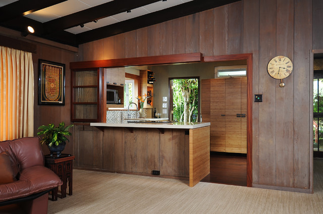 zen interior design kitchen photo - 9