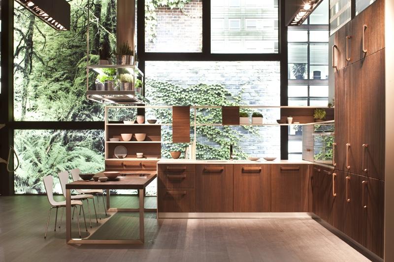 zen kitchen design photo - 2