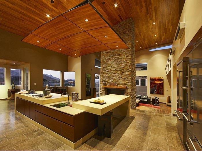 zen kitchen design photo - 7