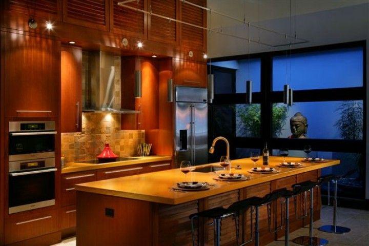 zen kitchen design photo - 9