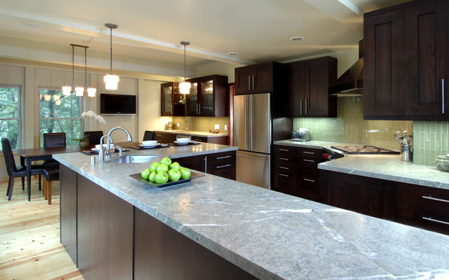 zen kitchen web design photo - 2