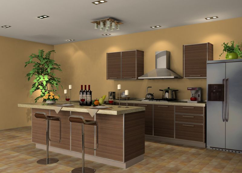 zen kitchen web design photo - 6