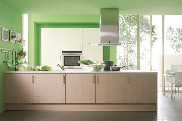 zen kitchen web design photo - 9