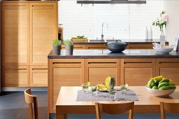 zen style kitchen design photo - 10