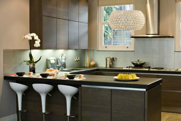 zen style kitchen design photo - 3