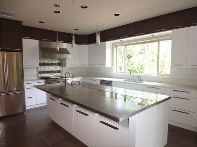 zen style kitchen design photo - 4
