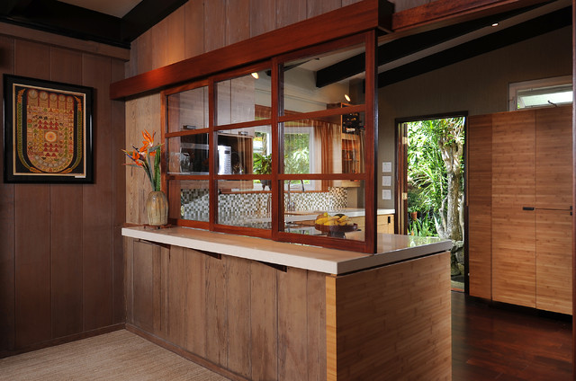 zen style kitchen design photo - 5
