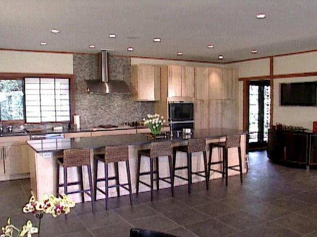 zen style kitchen design photo - 7