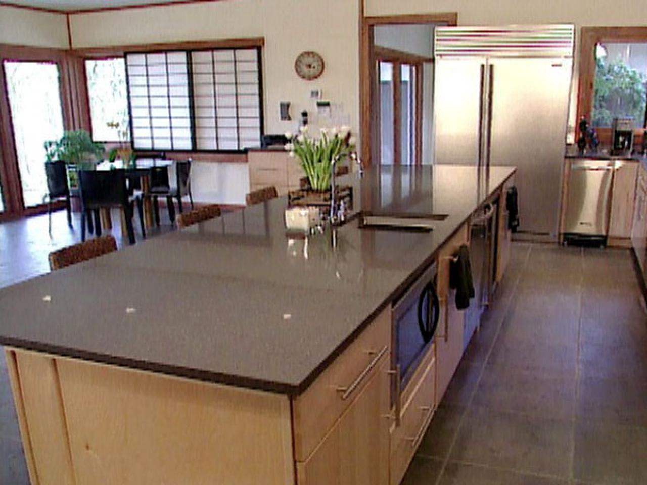 zen style kitchen design photo - 9