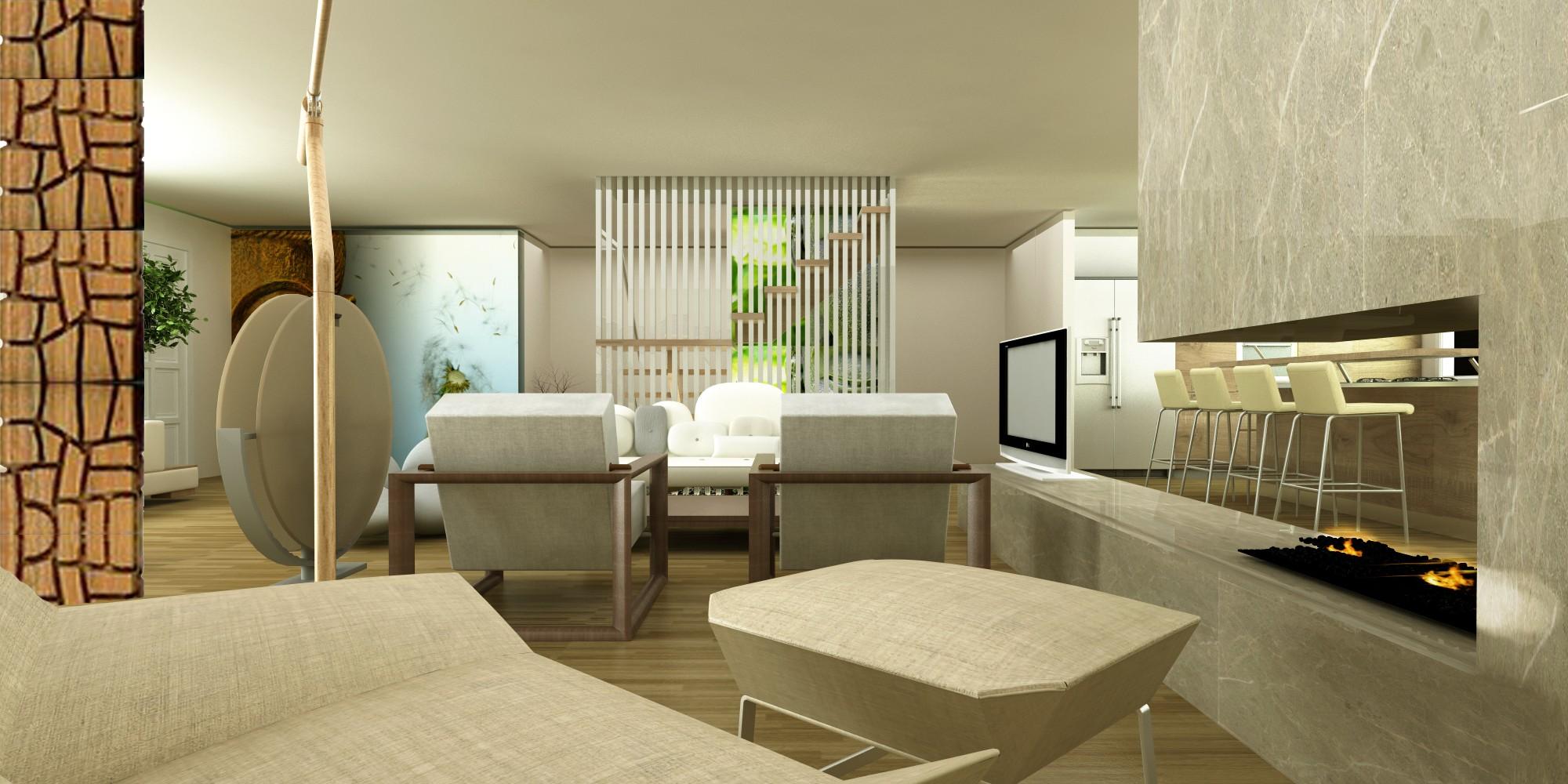 zen type living room designs  hawk haven